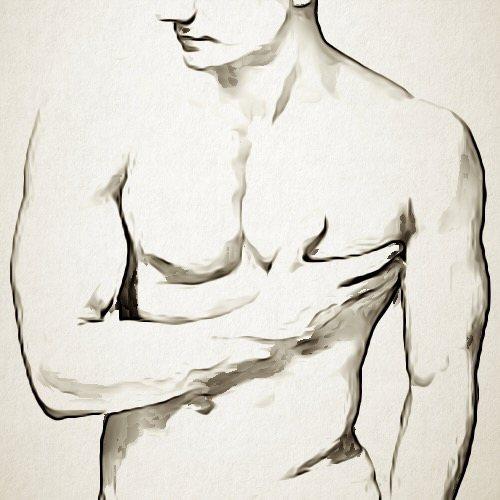 تصغير الثدي عند الرجال