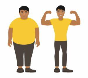 عملية شفط الدهون قبلها وبعدها