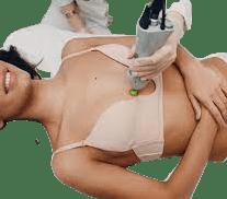 طريقة شد الثدي بالليزر